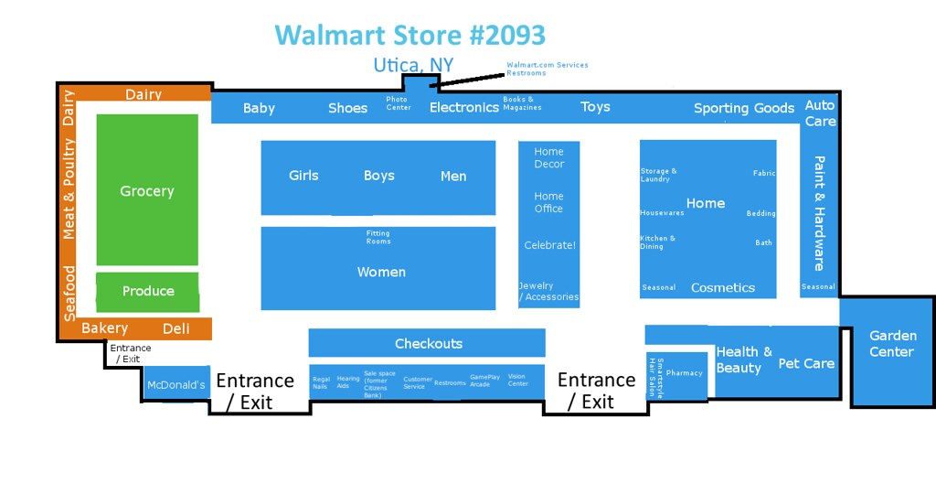 Walmart Supercenter Utica Ny Floorplan V2 3 Changelog Flickr