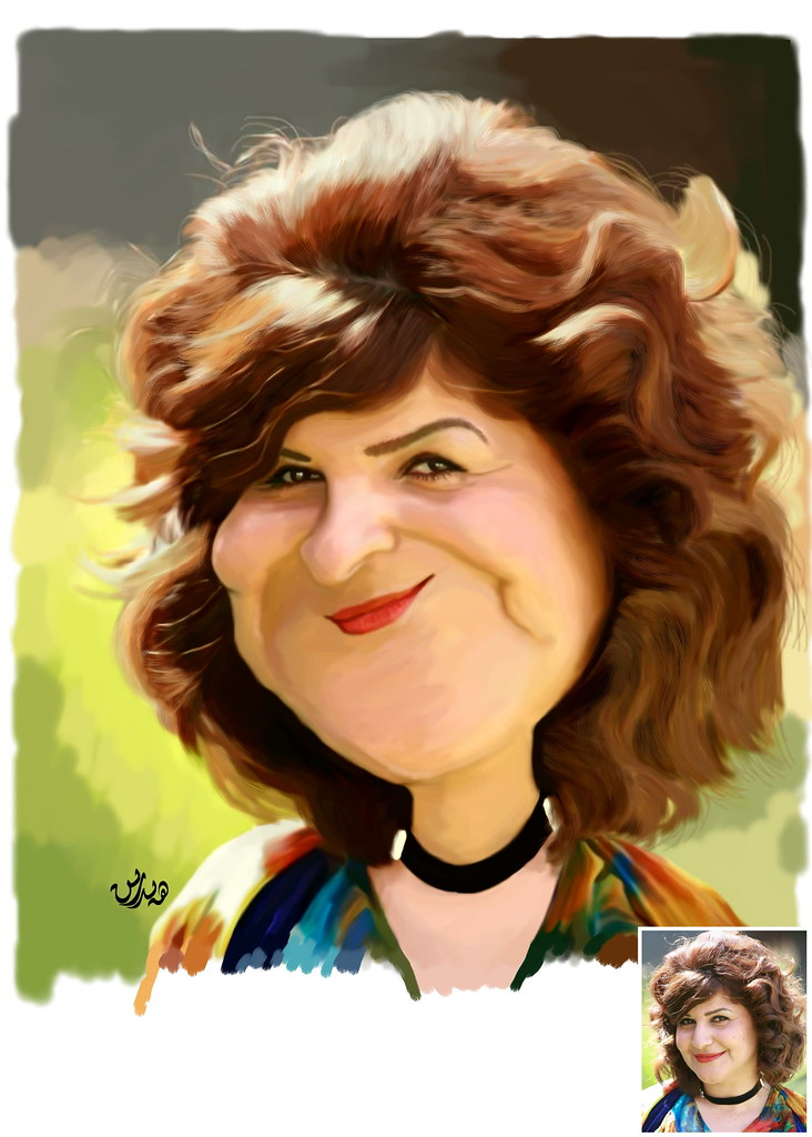 Talar Hirani - تهلار هیرانی | caricature of the kurds theat… | Flickr
