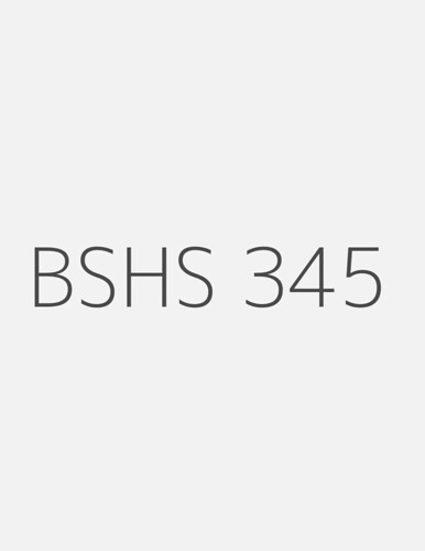 bshs 345 week 4 special population Transcript of week 3 special population interview isaac n barrientos bshs/345 anne adamson overview what population did i pick dominant culture.