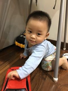 Zafeer @ 11 months old