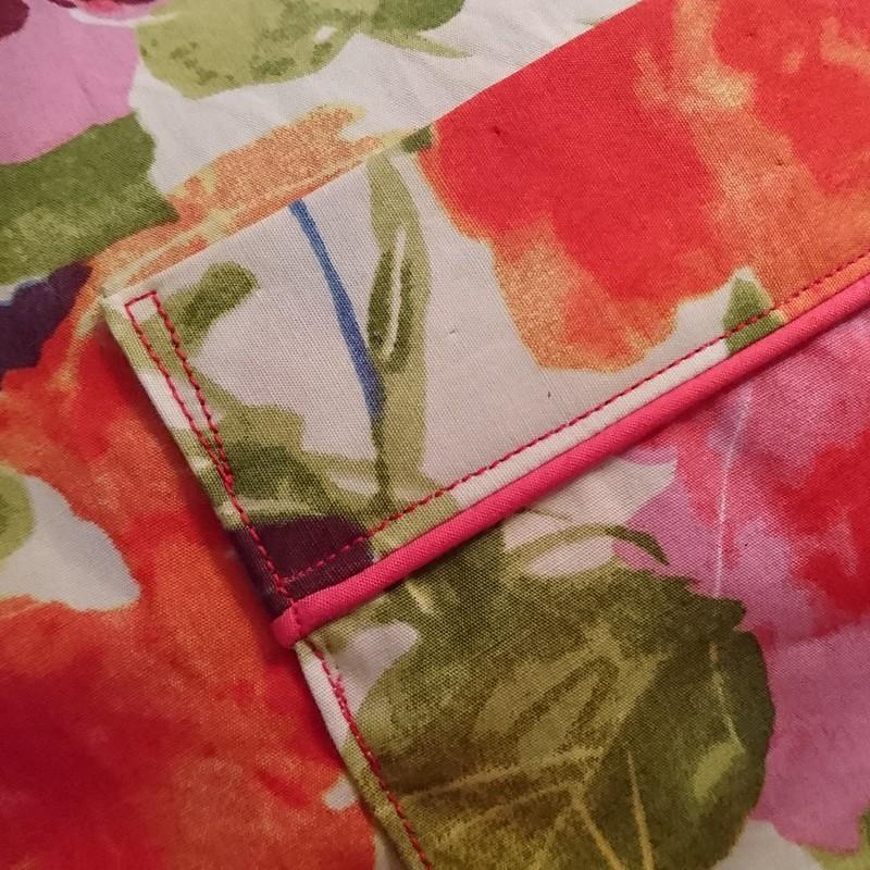 Closet Case Patterns Carolyn pajamas pocket detail