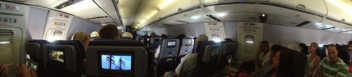 In-flight panorama | by brusegard