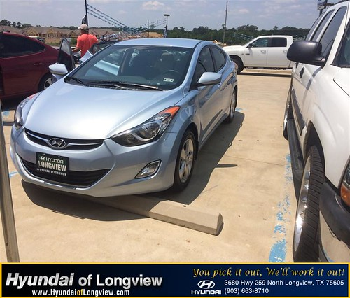 Hyundai Of Longview >> Congratulations to Omar Padron on your #Hyundai #Elantra p… | Flickr