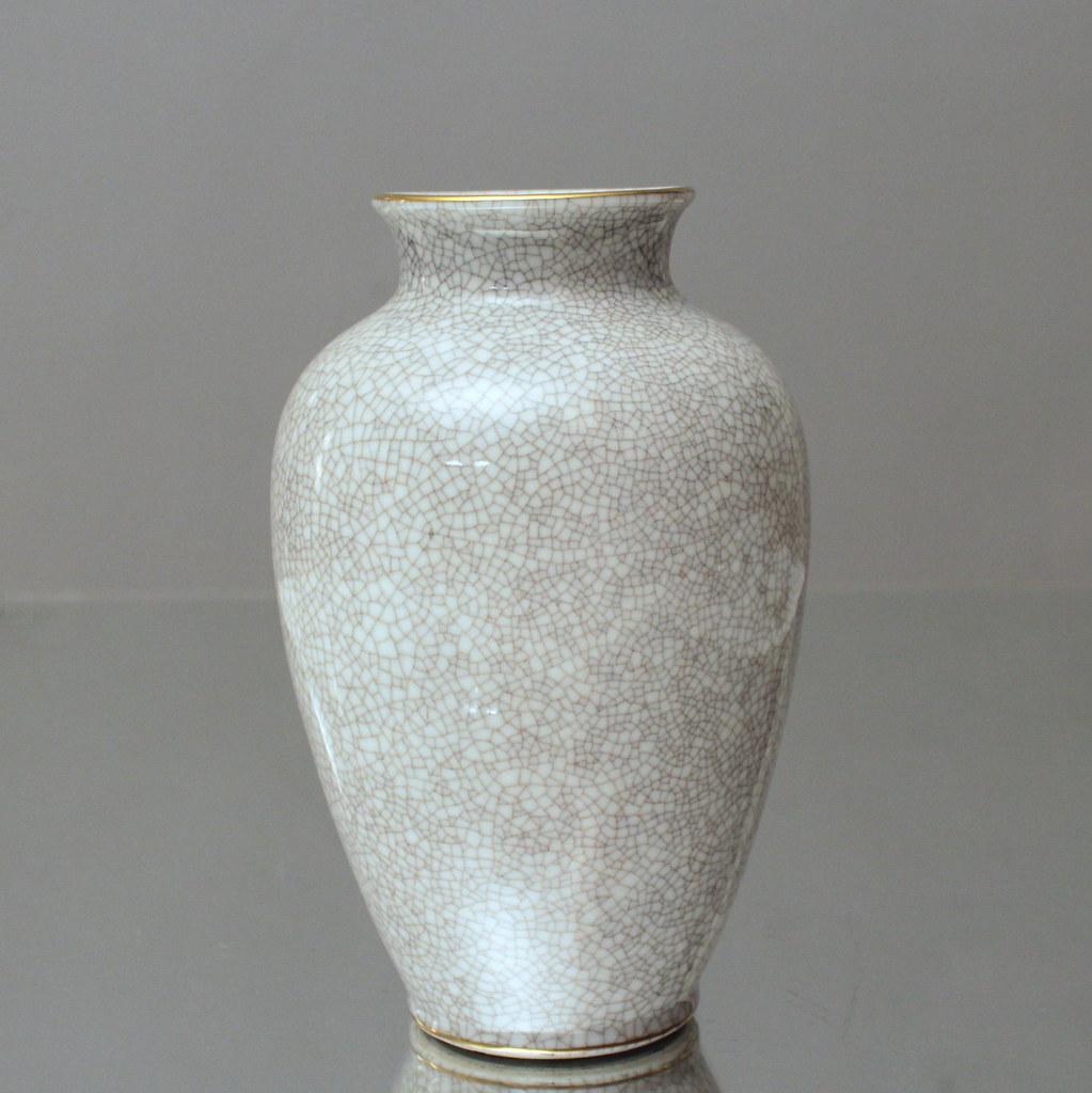 Wunderbar Vase Grau Das Beste Von Rosenthal: Mit Craquelee Dekor In | By