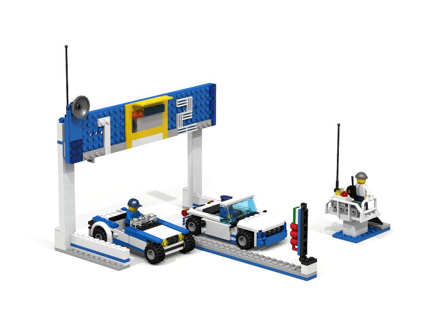 Lego City 60044 Dragrace Alternate Of The Lego City 60044 Flickr