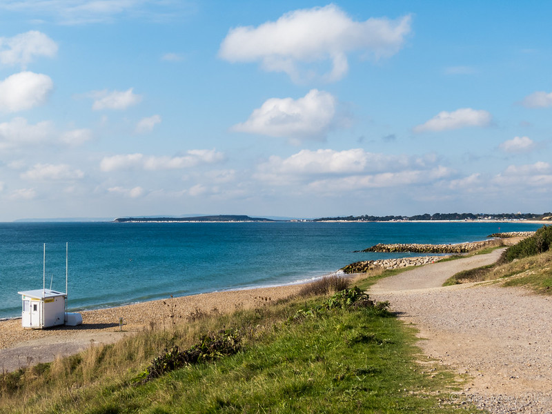 Looking across to Sandbanks, Poole
