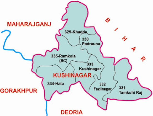 Kushinagar district Uttar Pradesh Election 2017