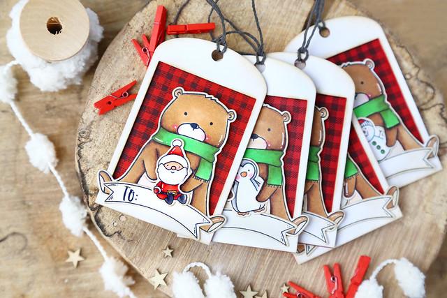 25 days of Christmas tags!