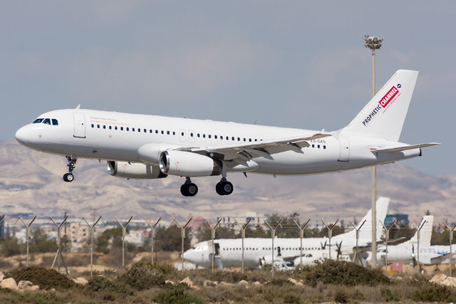 ZS-GAS - Global Aviation - Airbus A320-231 * Prophetic Channel *