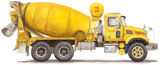 Yellow Cement Truck | by Jay Boucher