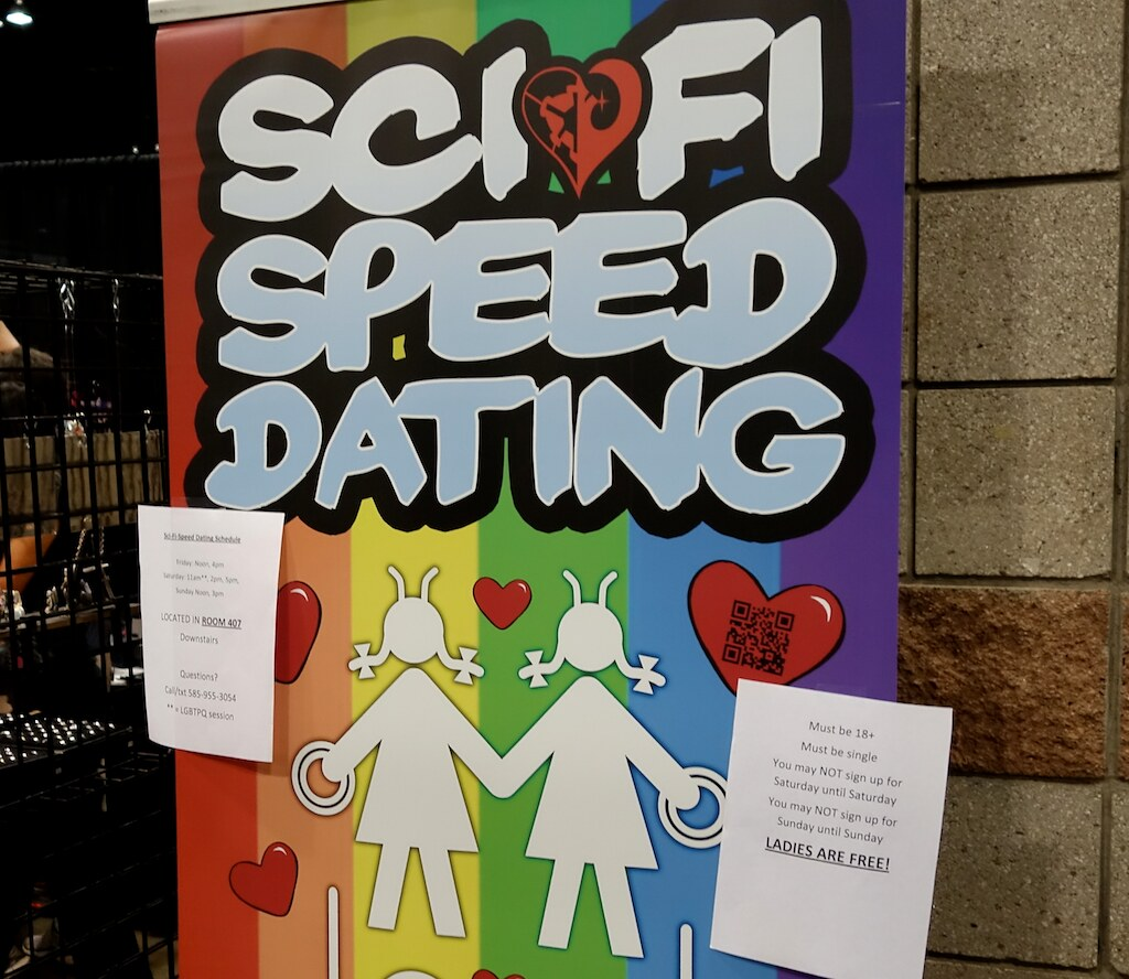 Sci Fi Speed ​​Dating Denver