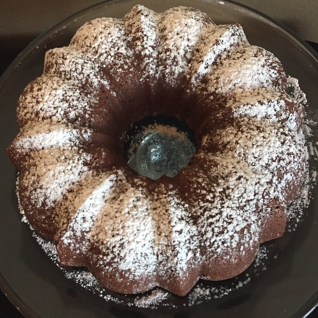Chocolate Cream Cheese Pound Cake