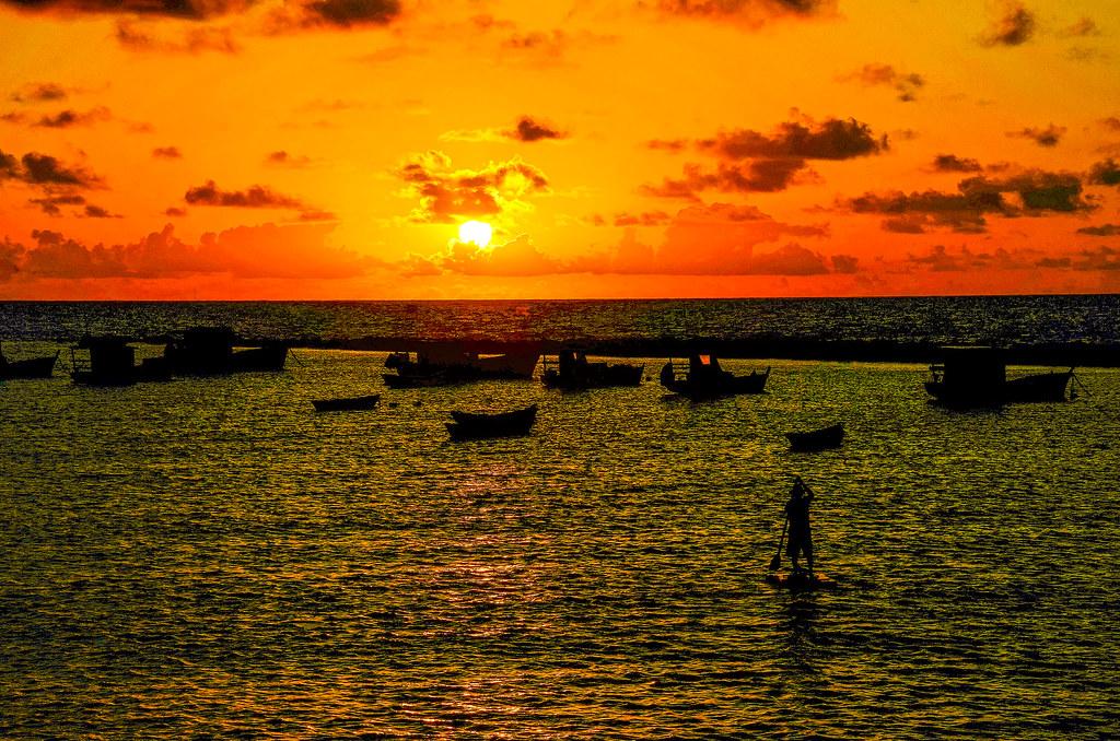 Praia do Carmo , Olinda .