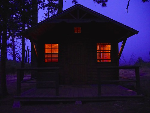 Paso Picacho Campground Cabin | by Stampscapes