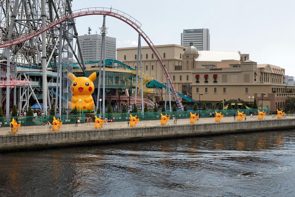 Yokohama - Pikachu Outbreak