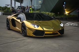 Matte Gold Car Paint