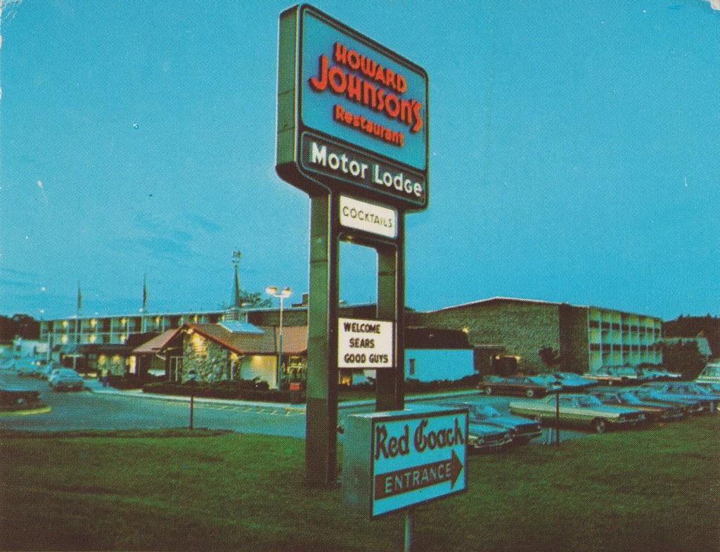 howard johnson 39 s motor lodge and restaurant portland me. Black Bedroom Furniture Sets. Home Design Ideas