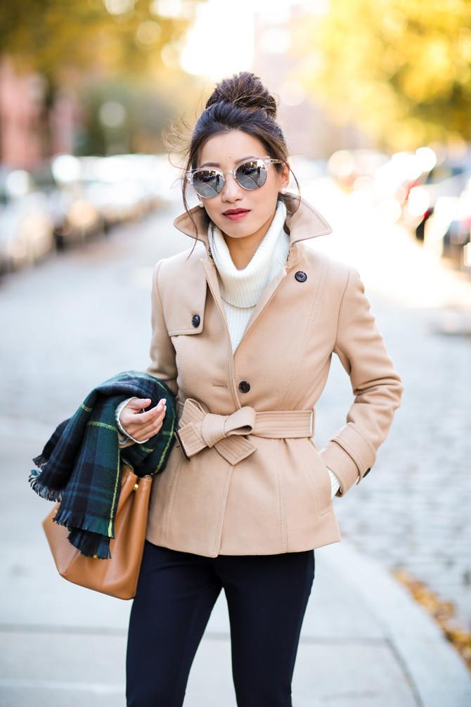 short camel wool jacket extra petite classic style