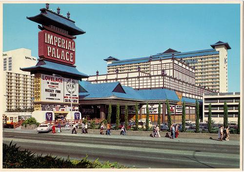 Retro Las Vegas 1980s Imperial Palace Postcard A