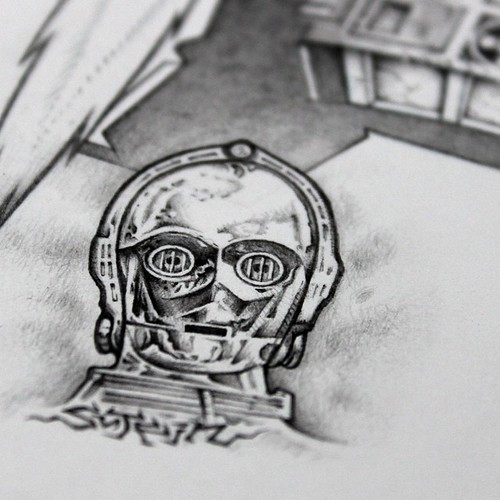 C3PO_remarque | by Mike Sutfin