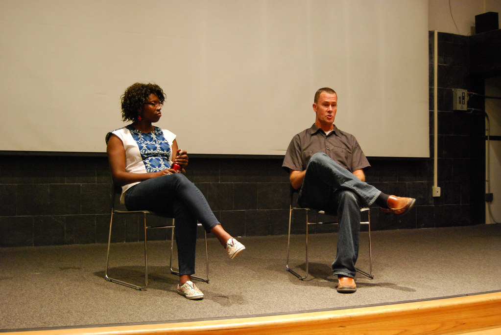... Liz Ogbu (UC Berkeley) And Kevin Conger From CMG Landscape Architecture  | By Swissnex