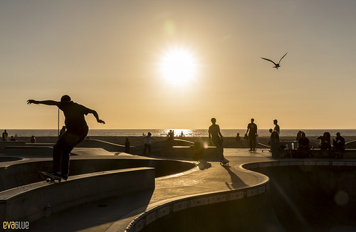 venice beach skateboarding 08 | by Eva Blue