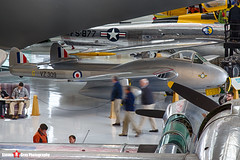 N174LA VZ309 G - IB-1686 - Royal Air Force - De Havilland DH-100 Vampire FB52 - Evergreen Air and Space Museum - McMinnville, Oregon - 131026 - Steven Gray - IMG_8960_HDR