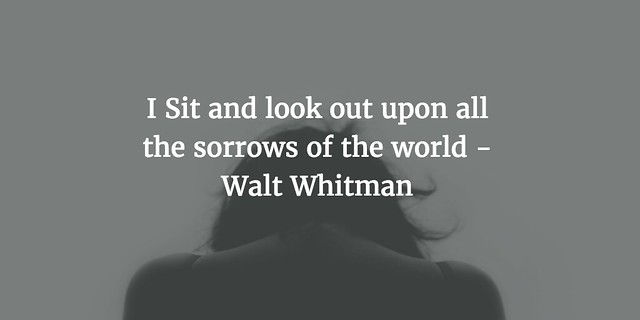 I Sit ... whitmanwednesday
