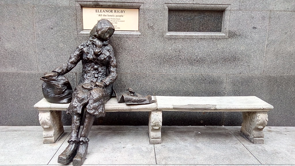 ... Eleanor Rigby Statue, Liverpool | By Theodoritsis