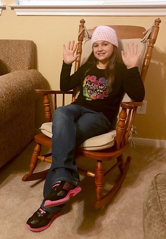 Rocking chair 10 years old