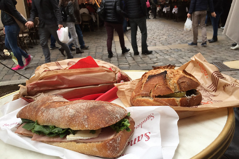 Lunch from Boulangerie du Palais