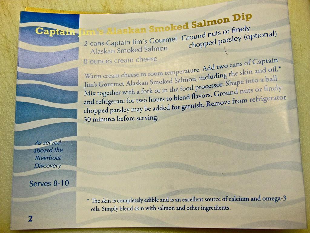 Captain jim s alaska smoked salmon recipes
