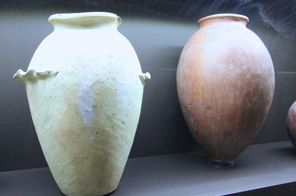 Egyptian Alabaster Vases Archaeology Museum Florence Flickr