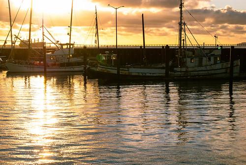 Last Light at the Marina