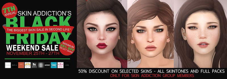 Skin Addiction Black Friday Sale