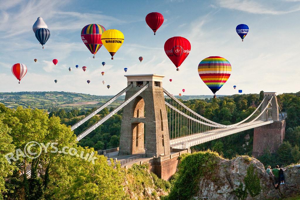 Bristol Balloon Festival At Clifton Bridge By Longlensphotography Co Uk Daugirdas Tomas