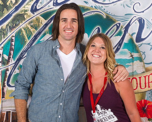 Jake Owen - Meet and Greet 2014 Bands in the Backyard