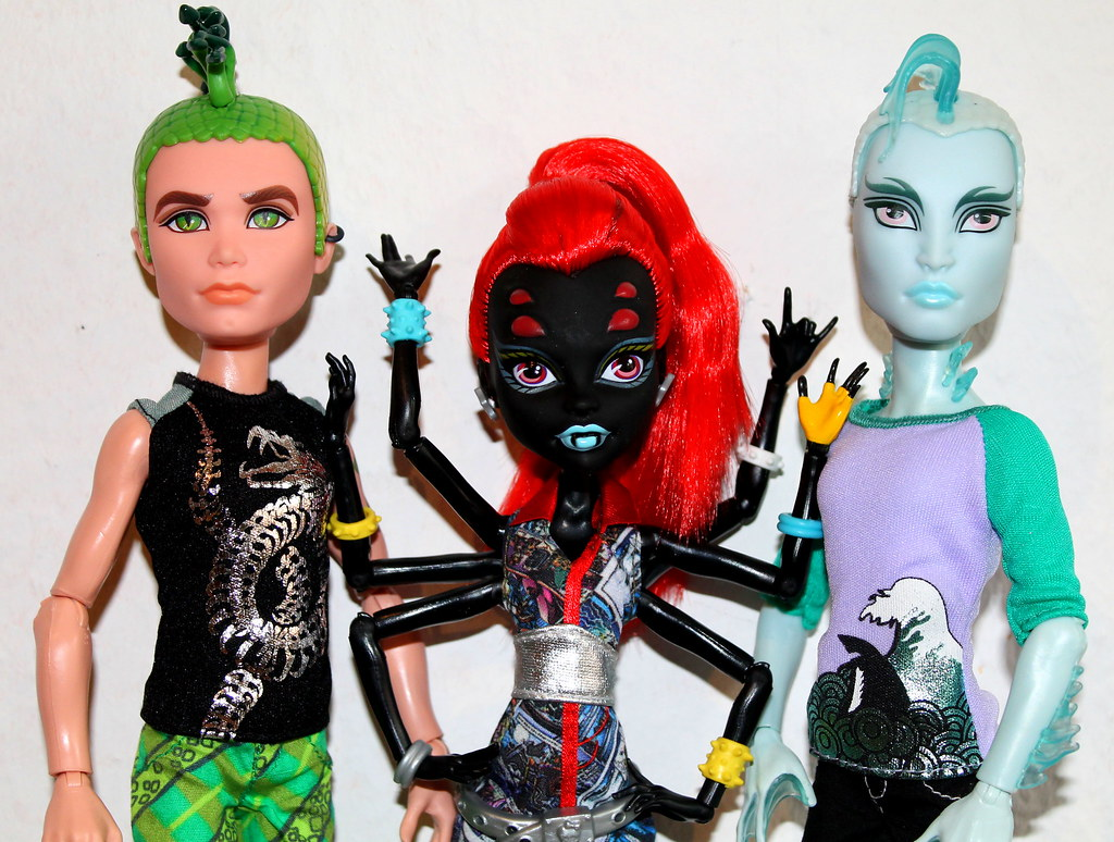 monster high gil deuce mansters pack wydowna spider flickr