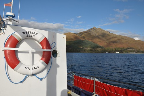 Sgurr Coire Choinnichean from MV Western Isles