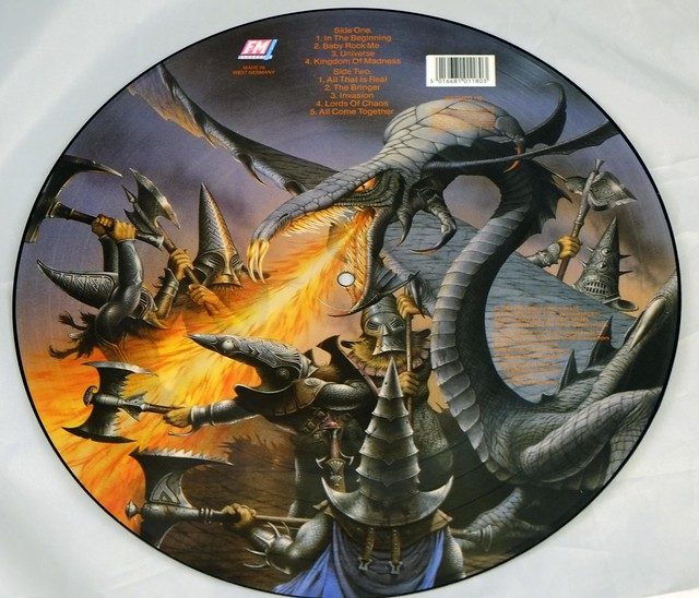 "MAGNUM KINGDOM OF MADNESS PICTURE DISC 12"" LP VINYL"