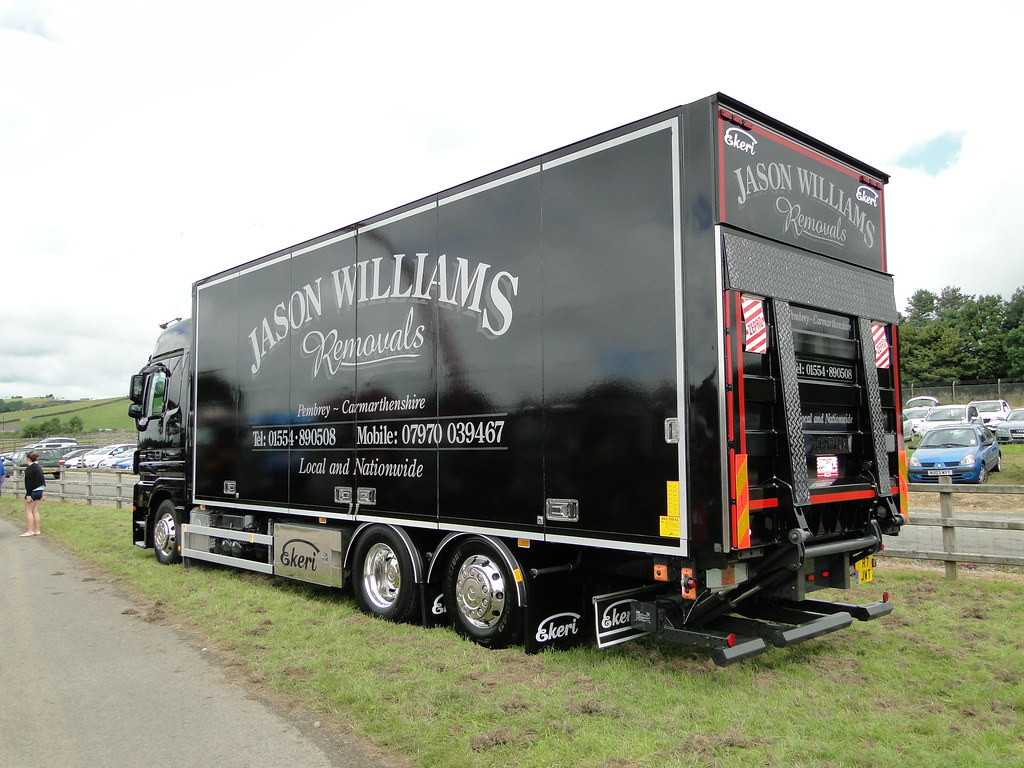 ... Jason Williams Removals Mercedes Benz Actros 2536 R7 JWT | by 5asideHero