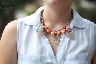 Styled with Bridet necklace | by The Better Martha