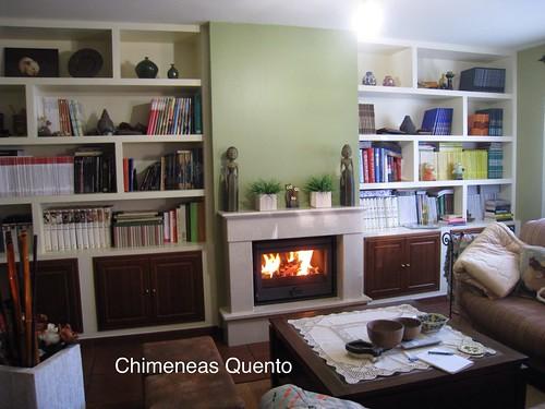 Chimenea quento modelo cornide con dovre 2210 s www - Chimeneas quento ...