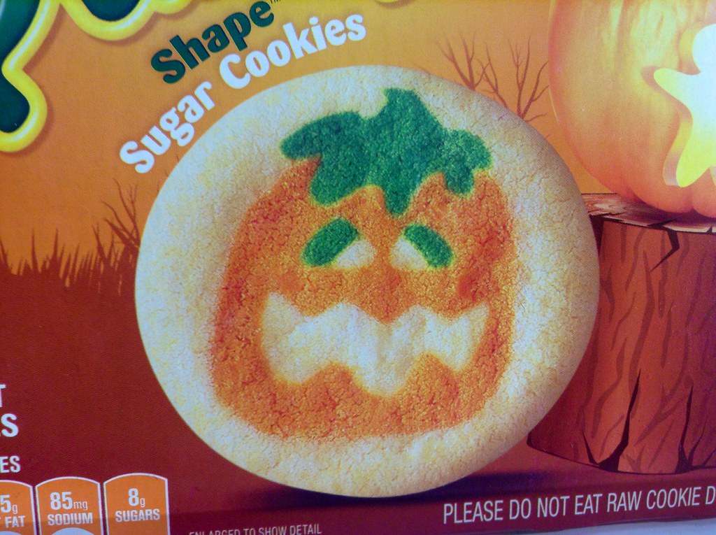 jeepersmedia pillsbury halloween 2014 pumpkin sugar cookies by mike mozart of thetoychannel and jeepersmedia