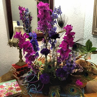 Gorgeous birthday flowers designed and gifted by Lori Bell #dpbirthday | by Life With Dee