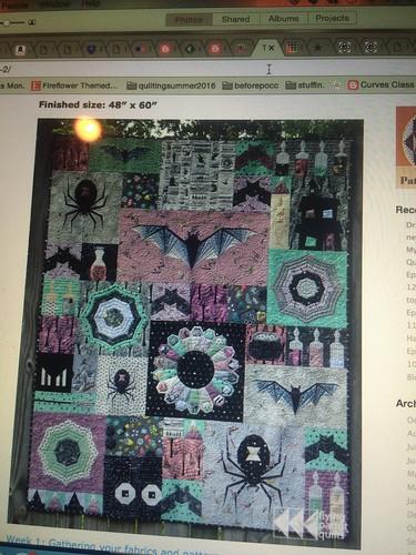Halloween quilt
