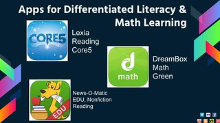 Apps for Differentiated Literacy and Math Learning | by shellyfryer