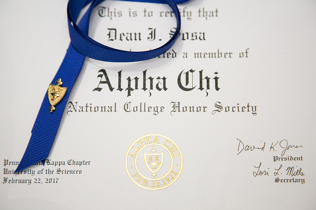 2016 Alpha Chi Induction Ceremony