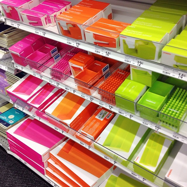 Etonnant ... LOVE This Poppin Brand Of Office Supplies @staples   Lime Green And  Orange Are @
