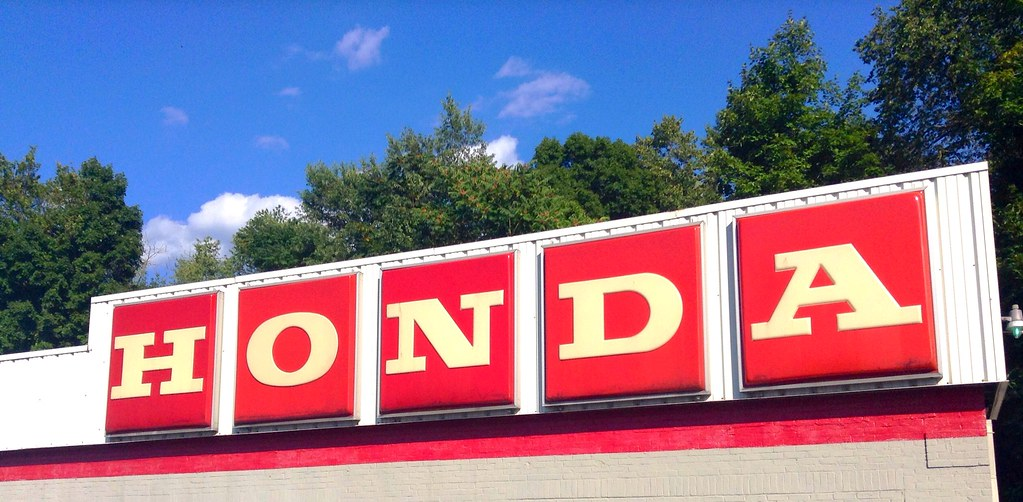 ... Honda Motorcycle Sales Dealership, Mickey Finn, 9/2014 Berlin, CT By  Mike